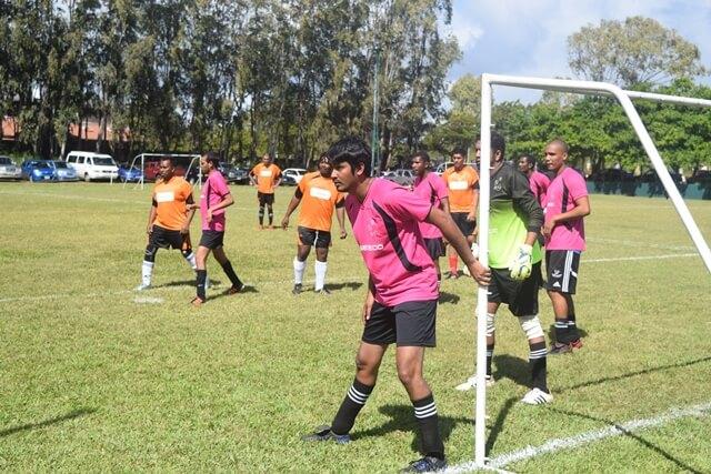 equipe de foot sedeco en plein match