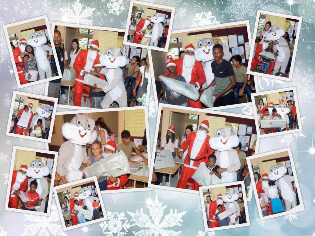 Le Père Noël et Bugs Bunny ont distribué tout plein de cadeaux :)